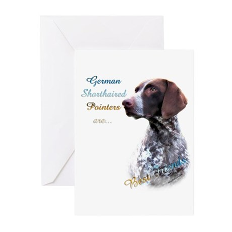 GSP Best Friend1 Greeting Cards (Pk of 10)