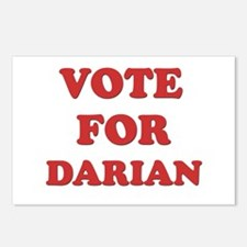 Vote for DARIAN Postcards (Package of 8)
