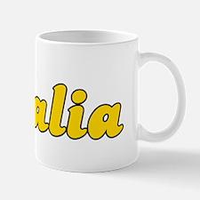 Retro Visalia (Gold) Mug