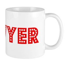 Retro Sawyer (Red) Mug