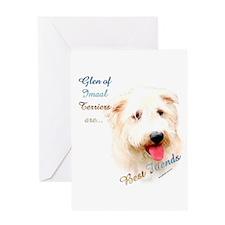 Imaal Best Friend1 Greeting Card