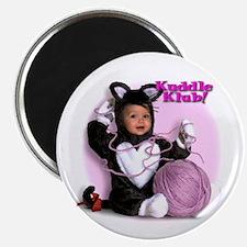 """""""Kitten N' Yarn"""" from Kuddle Klub Magnet"""