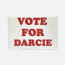 Vote for DARCIE Rectangle Magnet
