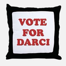 Vote for DARCI Throw Pillow