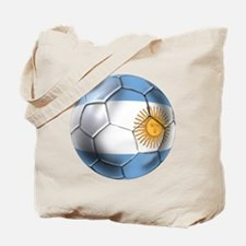Argentina Football Tote Bag