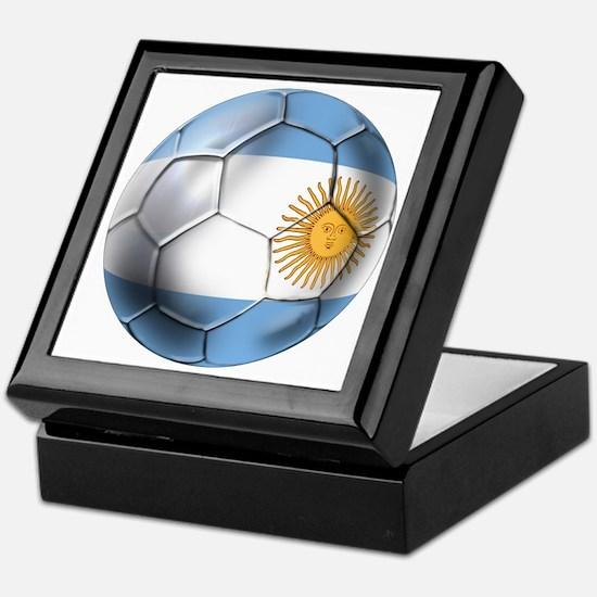 Argentina Football Keepsake Box