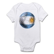 Argentina Football Infant Bodysuit