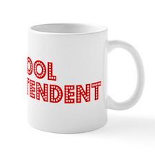 Retro School supe.. (Red) Mug
