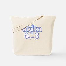 Powderpuff Akita Tote Bag