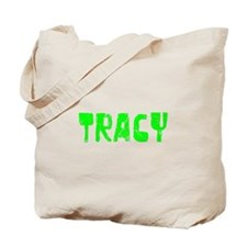 Tracy Faded (Green) Tote Bag