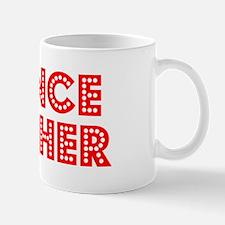 Retro Science Tea.. (Red) Small Small Mug