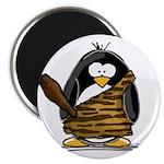 Caveman Penguin Magnet