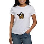 Caveman Penguin Women's T-Shirt