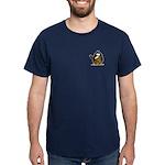 Caveman Penguin Dark T-Shirt