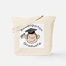 Monkey Kindergarten Graduate Tote Bag