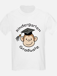 Monkey Kindergarten Graduate T-Shirt