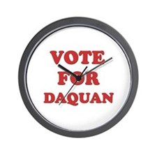 Vote for DAQUAN Wall Clock