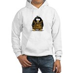 Cavewoman Penguin Hooded Sweatshirt
