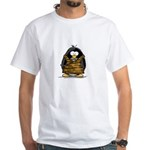 Cavewoman Penguin White T-Shirt