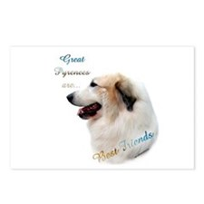 Great Pyr Best Friend1 Postcards (Package of 8)