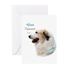 Great Pyr Best Friend1 Greeting Card