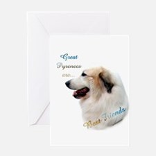 Great Pyr Best Friend1 Greeting Card