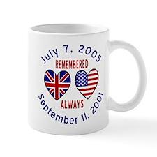 UK & USA Remembered Always L Mug