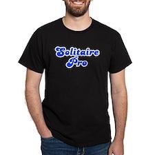 Retro Solitaire Pro (Blue) T-Shirt
