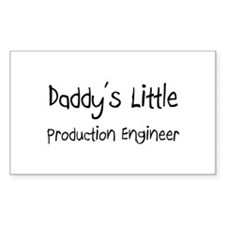 Daddy's Little Production Engineer Decal