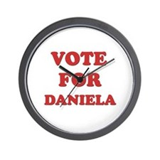 Vote for DANIELA Wall Clock