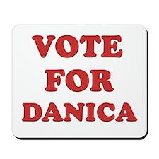 Vote for DANICA Mousepad
