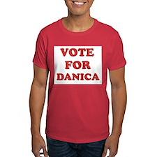 Vote for DANICA T-Shirt