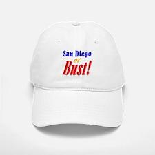 San Diego or Bust! Baseball Baseball Cap