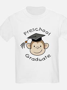 Monkey Preschool Graduate T-Shirt