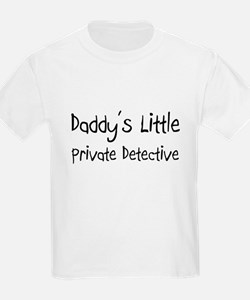 Daddy's Little Private Detective T-Shirt