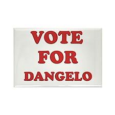 Vote for DANGELO Rectangle Magnet