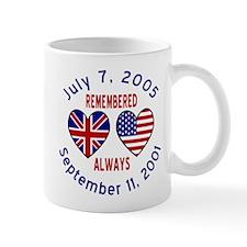 UK & USA Remembered Always 2 Mug