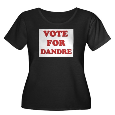 Vote for DANDRE Women's Plus Size Scoop Neck Dark
