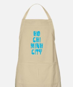 Ho Chi Minh .. Faded (Blue) BBQ Apron