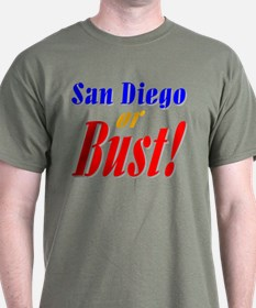 San Diego or Bust! T-Shirt