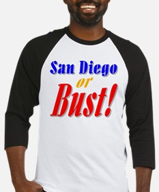 San Diego or Bust! Baseball Jersey