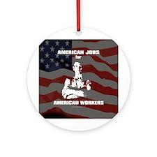 American Jobs... Ornament (Round)