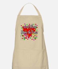 Last Fling Before the Ring BBQ Apron