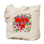 Wild Bachelorette Party Tote Bag