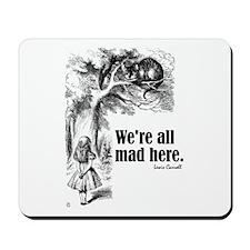 "Carroll ""All Mad"" Mousepad"