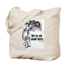 "Carroll ""All Mad"" Tote Bag"