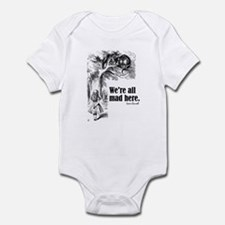 "Carroll ""All Mad"" Infant Bodysuit"