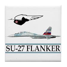 Funny Military design Tile Coaster
