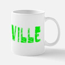 Vacaville Faded (Green) Mug