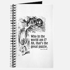 """Carroll """"Who Am I"""" Journal"""